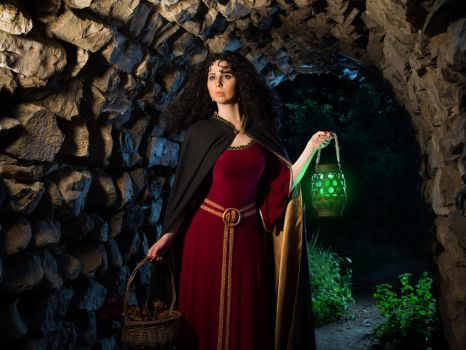Green Lantern - Mother Gothel by The-Irstress