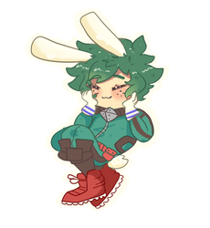 Bunny Boy [deku] by gh0stbun