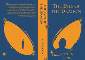 The Eyes of the Dragon Book Cover Design by Llewxam888