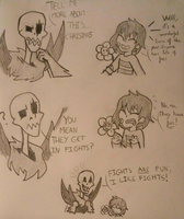 Uf!Papyrus skeletor by marex184