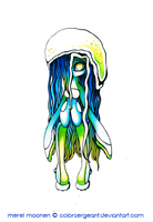 Jelly-Squid by ColorSergeant