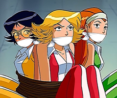 Totally Spies Forward to the Past by Goldy0123