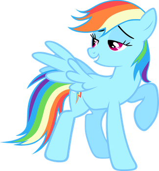 Oh, hey Dashie... by cthulhuandyou