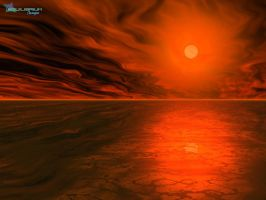 Another red sun by equilibrium3e