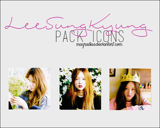 Lee Sung Kyung - Icons 2 by mayradias