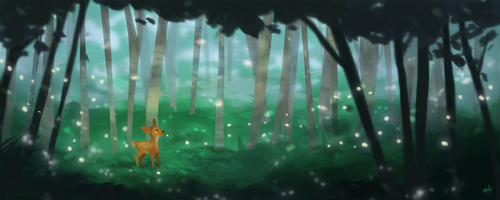 Magical Forest by zuluyo