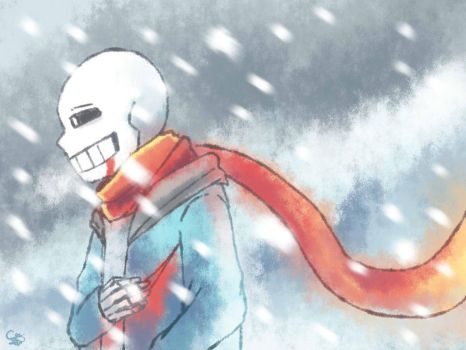 Wait for me Papyrus by Cvanov
