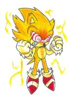 Fleetway Super Sonic by KGN-000