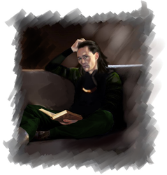 Loki Book of Magics by LadyMintLeaf