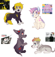 Album Cover Adopts by Pvnkky