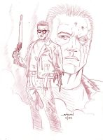The Terminator (T-800) by StevenWilcox