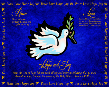 I Wish You All Peace Love Hope and Joy by ZandKfan4ever57
