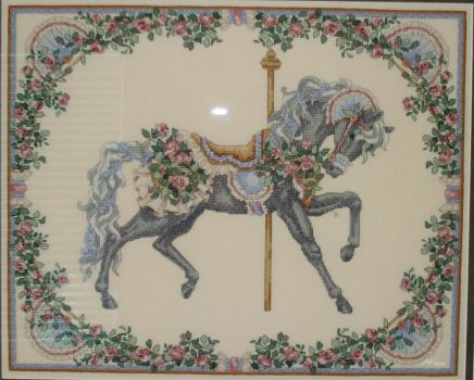 Cross Stitch - Summer Carousel Horse by DragomirEmil