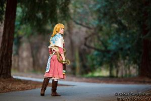 Zelda: Through the Woods by OscarC-Photography