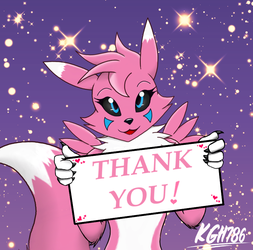 Reyna Thank You to all fans by KGH786