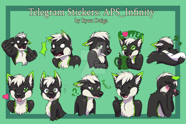 APS_Infinity Sticker Pack by Ryuudaiga
