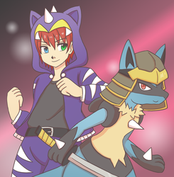 Loading Crew Pokemon Tabletop: Lavi by SilverHyena