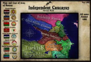 Independent Caucasus Part 1|Alternate World by Breakingerr