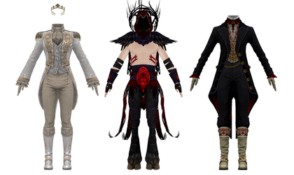 MMD Download - GW2 - Pack 6 by Drysmath