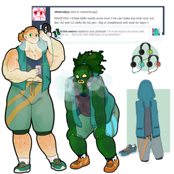 Outfit meme Tall and Eddie jogging buddies by CaptainBragd