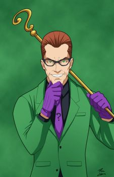 Unmasked- Riddler by Roysovitch