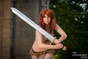 Red Sonja by ShatteredStitch