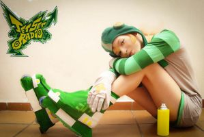 Cosplay Gum - Jet Set Radio by ThamySorel