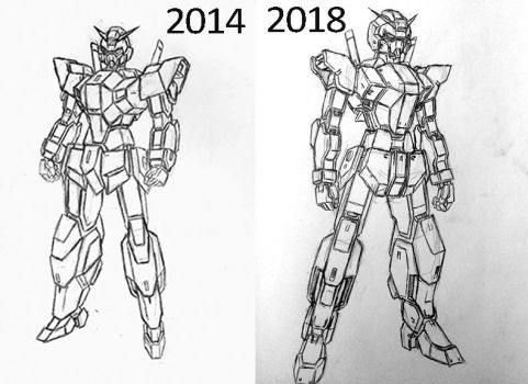 Tales From the Sketchbook: Gundam Lex by Linkinpark30101