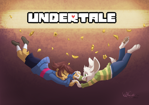Undertale by hecatehell