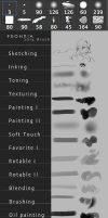 My Brush Set 2014 by Pearlpencil