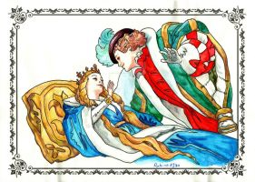Colouring Practice - Sleeping Beauty by Rubina1970