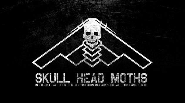 SKULL HEAD MOTHS SQUADRON by model850