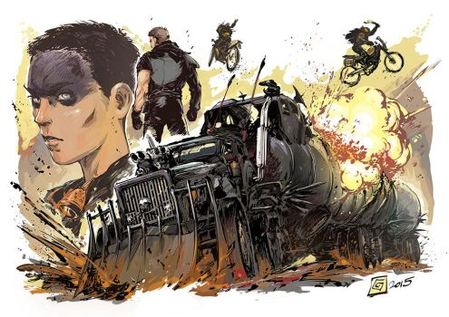 Mad Max by Smolb
