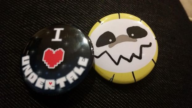 Undertale Pins! by ISetWaifuOnFire