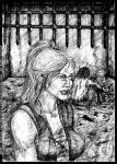 Carsa Howe 'n' Be'Wahr: unpublished art from B.II by middaschronicles