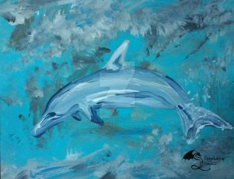 Dolphin by StephanieSmall