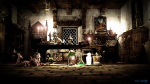 Witch Room by kingsmagic