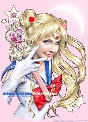 Sailor Moon by ElectronicRainbow