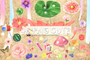 Pack 45 Png Cute by LarAmb