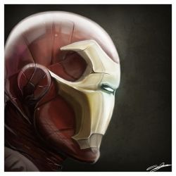 Iron Man by AndyFairhurst