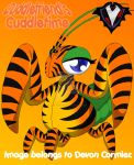 Cuddlefriend's Cuddletime - Mandy's Tiger Zentai by PlayboyVampire