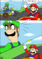 Comic - Don't mess with Luigi! by PeterPack