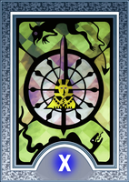 Persona Tarot Card HD - The Wheel of Fortune by The-Stein