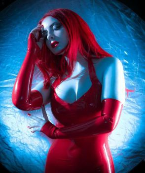 Blue and Red by MissMandyMotionless