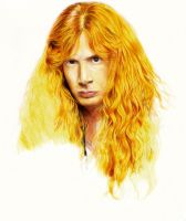 Dave Mustaine. Megadeth WIP 2 by Red-Szajn