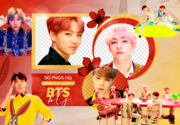 PNG PACK: BTS #63 (IDOL) by Hallyumi