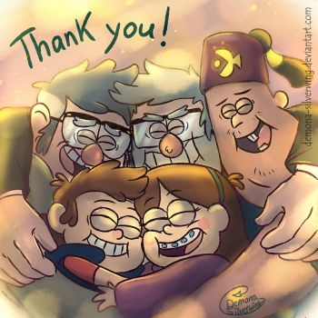 Thank you! by Demona-Silverwing