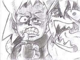 Soul and black star by DBztmk