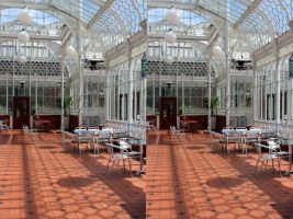 Victorian Conservatory That Was At Coombe Cliff by aegiandyad
