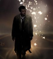 Castiel - Sparks by AmandaTolleson